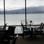 View to lake from the Narrows Grill Bar