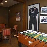 Game room at the Narrows Grill Bar