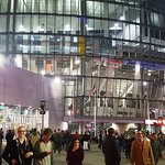 Sprint Center at night