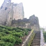 The outside of the Blarney Castle