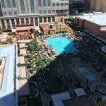 View of pools at Venetian