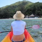 Facing Haad Khom beach and Ocean View