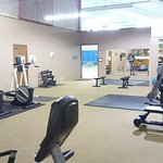 Weight and fitness room