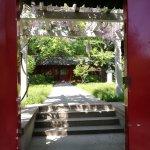 Peking University courtyard
