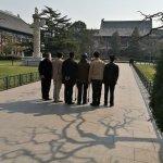 Group photo near West Gate
