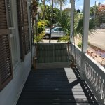 Front porch of Conch house