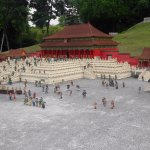 Chinese palace on lego