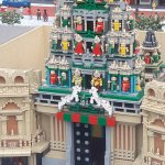 Hindu temple on lego
