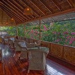 Main Lodge, breakfast area.