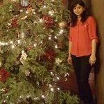 Christmas Tree at the reception lobby