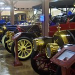 Part of the Mitchell car collection in the museum
