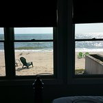 View from the room to Lake Huron
