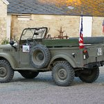 Christophe also offers tours of the D-Day sites in an old jeep.