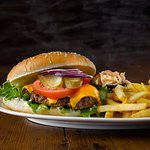 GG's BURGER,  all burgers are also available gluten free