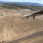 View of the Boulder City Airport - our departure point.