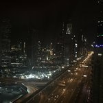 night view from the 32nd floor