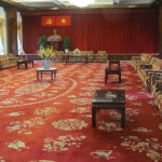 The grand meeting room