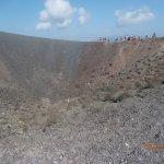 Santorini Volcano Foto