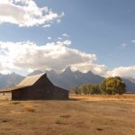 Most photographed barn in Grand Teton