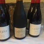 Le sommelier wine dinner pairing with Lafage wine.