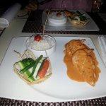 Spanish chicken - main course dish