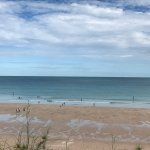 Cable Beach - late morning, lots of people and families enjoying the beach