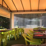 Dining areas and the beautiful outdoor views!