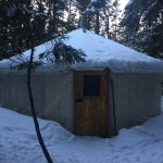 Our cosy yurt