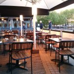 Gourmet Pizza Co (Gabriel's Wharf) - The Summer terrace