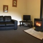 Living area of Jenolan Cottages