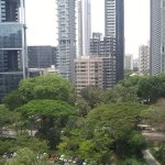 View out the back of the hotel away from Orchard Rd
