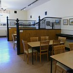 Muncaster Castle cafe in the stables