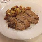 Punta di vitello with roasted potatoes