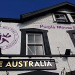 The new Purple Moose Brewery tap