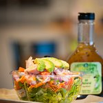 Fresh salads made to order. Try our house dressing made from scratch on premises.