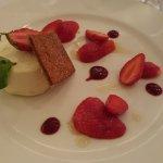 dessert fraises parfait glacée citron