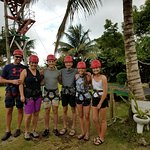 Ziplining at H'aven Sent -- LOVED THIS -- definitely worth the extra drive to go up the mountain