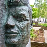 JF Kennedy Monument in Park