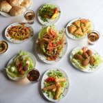 Authentic Lebanese Mezzah selections  by Chef Walid Baz  only at Sabaya.