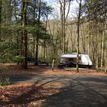 Camping and Fishing at Standing Indian Campground Site 3