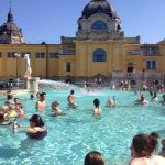 outdoor thermal pool 101F/ 38 °C