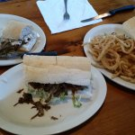 Pulled Pork, Beef, and Peacemaker Po-boys