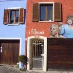 I murales a tema Fellini