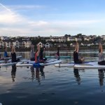 We run SUP Yoga classes throughout the summer too