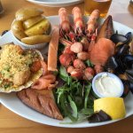 The seafood platter!