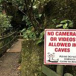 Outside Kawiti Cave