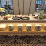 Sheraton Club 12th floor-cold meats, fruit, salad