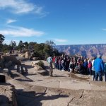 Grand Canyon South Rim, AZ. YES there are others visiting.