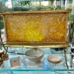 honeycomb at  breakfast buffet