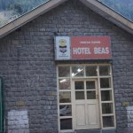 Hotel Beas Sign Board.